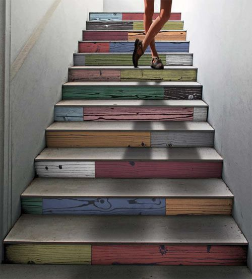 sweet staircase.