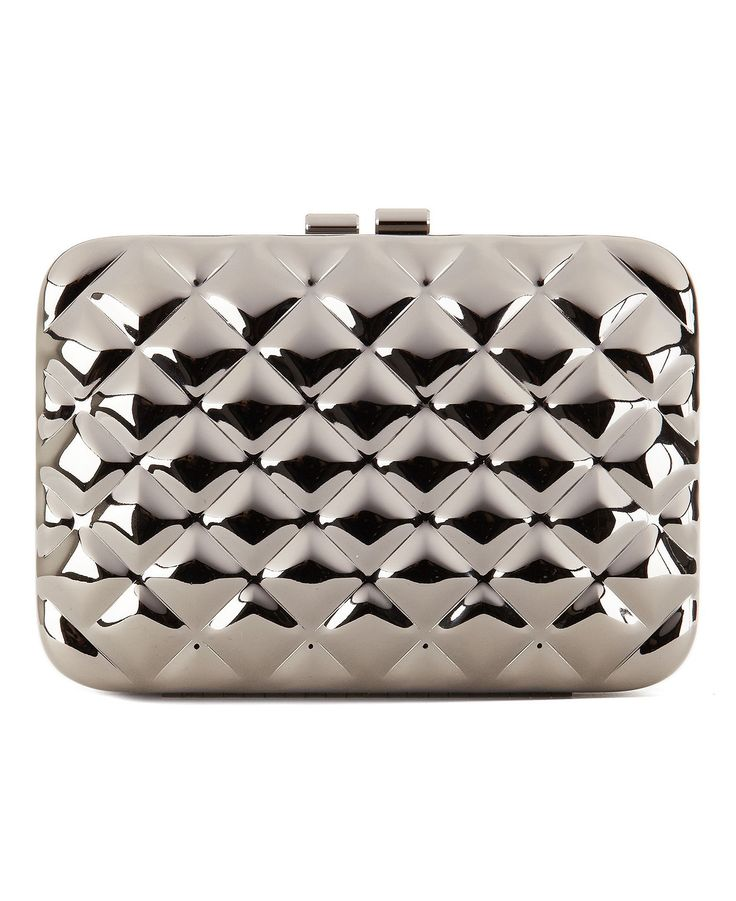 Quilted Metal #Clutch #Purse