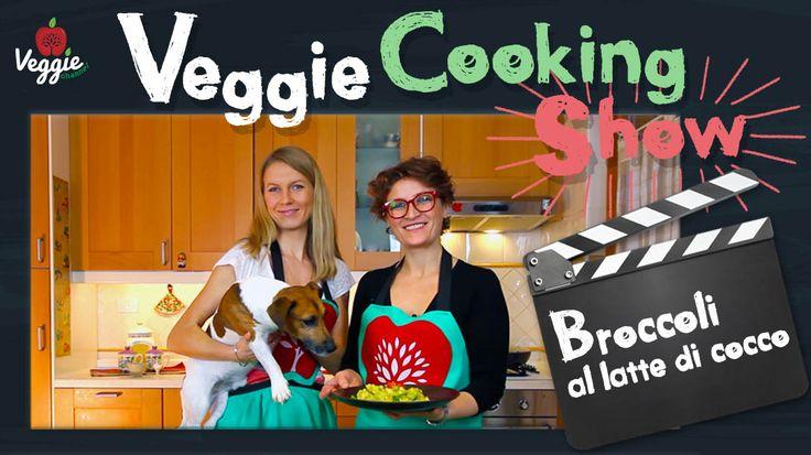 """Nasce su Veggie Channel il Veggie Cooking Show. In questa prima edizione viene realizzata insieme a Sara, Julia e Billy la ricetta """"Broccoli al latte di cocco"""" http://veggiechannel.com/video/ricette-vegane-e-vegetariane/veggie-cooking-show-broccoli-al-latte-di-cocco"""
