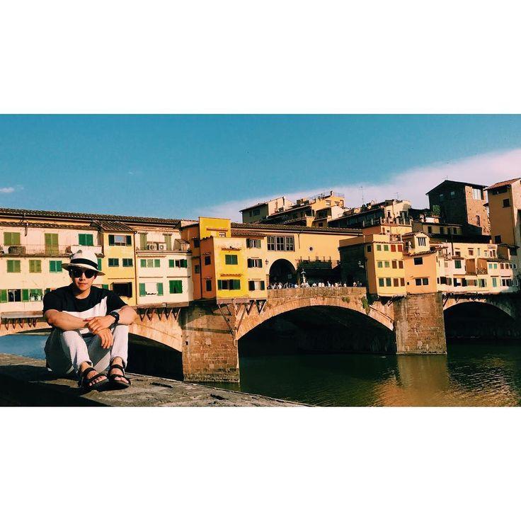 """박은석 Actor/Cyclist RCC#8647 on Instagram: """"#ponte #vecchio #firenze #italy🇮🇹"""""""