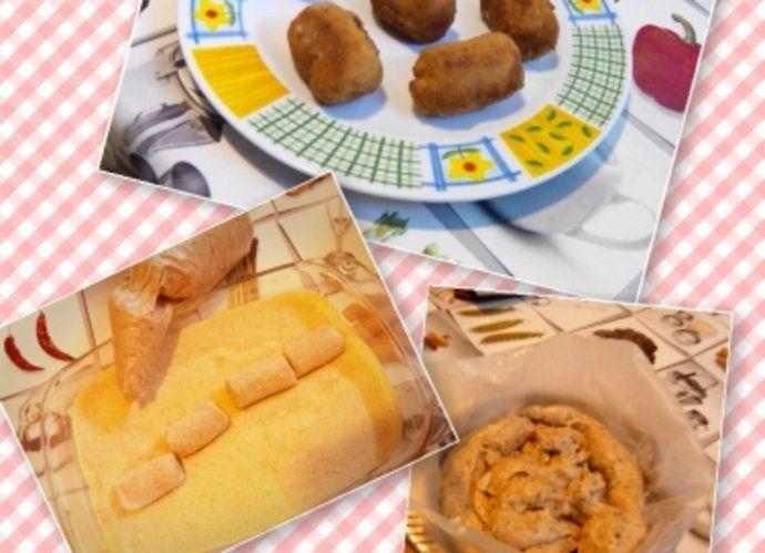 Croquetas de champiñones y gorgonzola para #Mycook http://www.mycook.es/cocina/receta/croquetas-de-champinones-y-gorgonzola