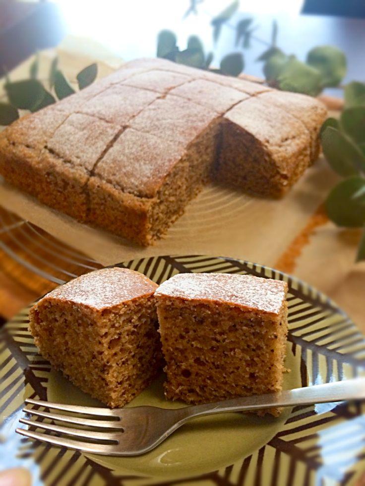 るん's dish photo HMで紅茶の焼きっぱなしケーキ   http://snapdish.co #SnapDish #レシピ #スイーツ祭り2017バレンタイン #ケーキ #バレンタイン #簡単料理