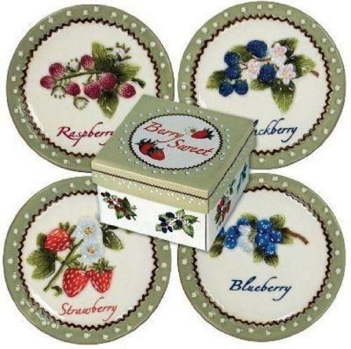 Manual Woodworkers \u0026 Weavers 4-1/2-Inch Berry Sweet Mini Plates  sc 1 st  Pinterest & 17 best mini plates images on Pinterest | Plate sets Plates and ...