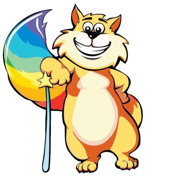 Gattobaleno, mascotte di Rainbow Magicland