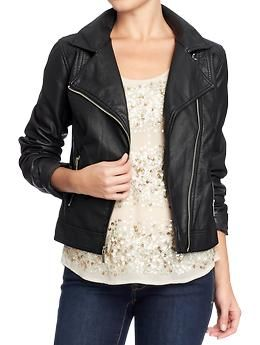 Womens Faux-Leather Moto Jackets at @Old Navy. 20% off at RetailMeNot: http://www.retailmenot.com/view/oldnavy.com#cid.4934133