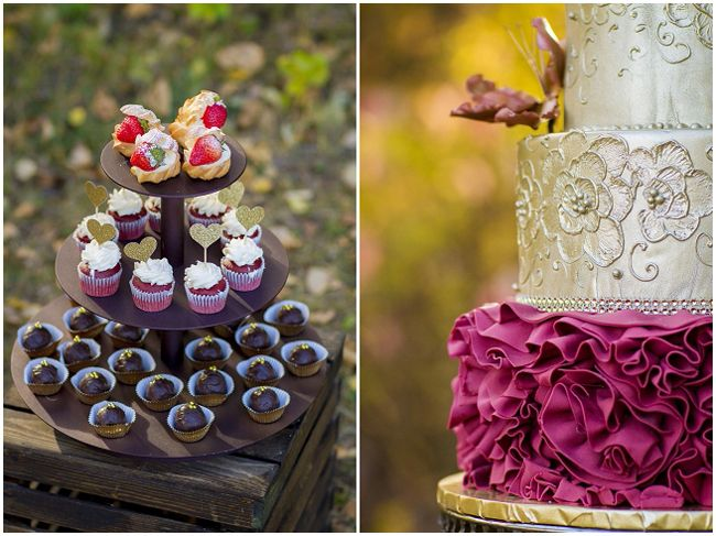 Autumn Ethereal Wedding Inspiration - Fab You Bliss - desserts by the Art of Cake - Edmonton