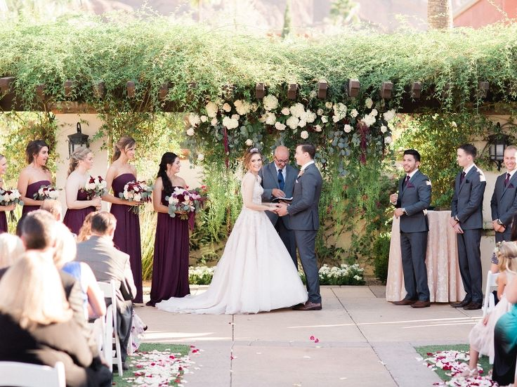 Peaches & Twine Photography - Ramsland Wedding - Omni Resort Montelucia Wedding Phoenix AZ - Phoenix Arizona Fine Art Film Wedding Photographer - Fall Wedding Ceremony