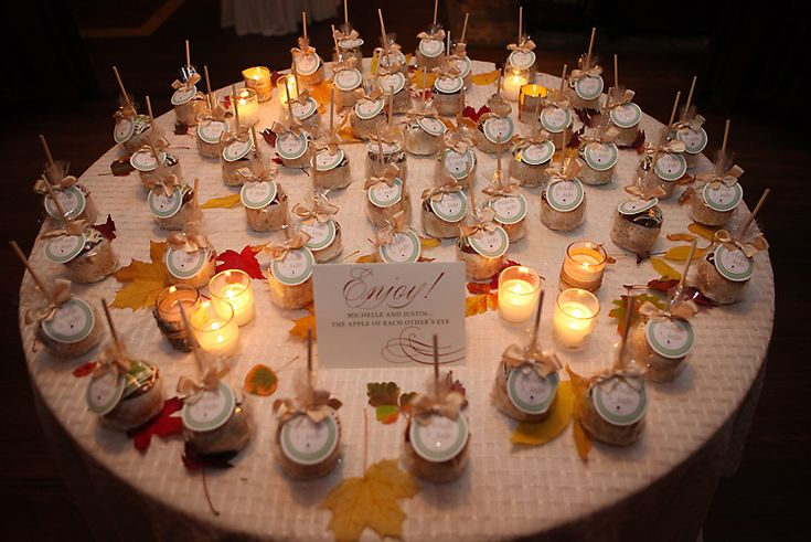 Candy Apple Wedding Favors 120 Best Images About Wedding Fall On Pinterest