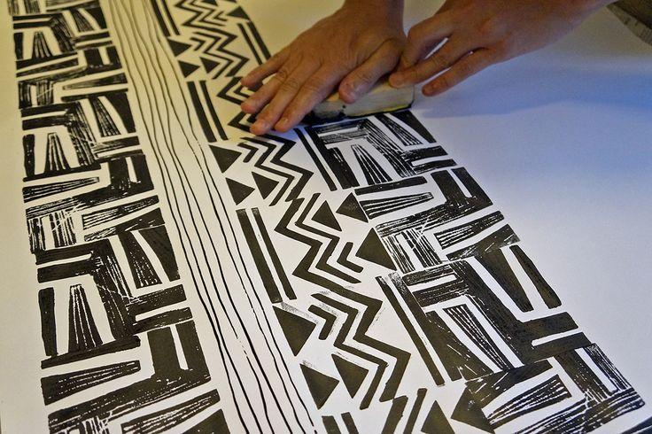 -  Stampa Studio   Workshop de Estamparia Manual Étnica com Ivone Rigobello