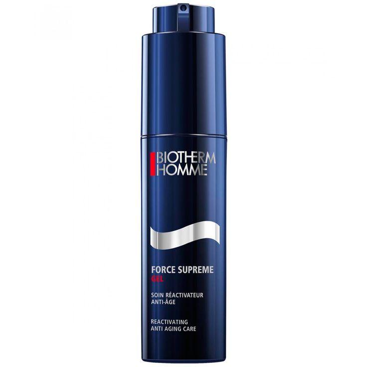 Force Supreme Gel de Biotherm es de tecnología avanzada mejora la estructura de la piel. Instantáneamente las arrugas se ven reducidas y la piel más radiante. Proporciona 24h de hidratación.