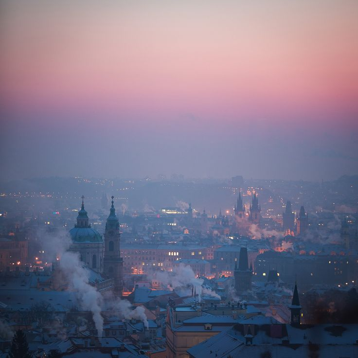 Frozen Prague - early morning | Frozen Prague  : www.lukaskrasa.com instagram : www.instagram.com/lukaskrasacom