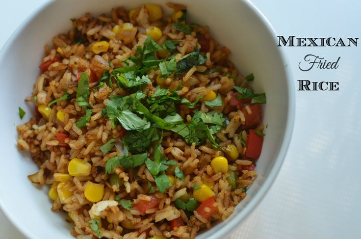 Mexican Fried Rice | Recipe | Mexican Fried Rice, Fried Rice and Easy ...