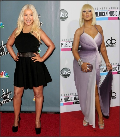 Christina Aguilera Weight Loss Photos
