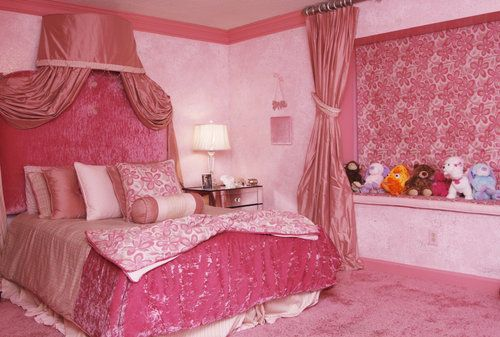 Too Pink Or A Little Girl S Dream Room Kandi Burruss Admits Some People Thinks It S Over The