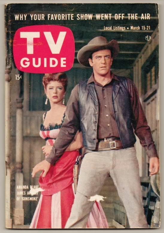1958: Gunsmoke was the most watched TV show of the year.