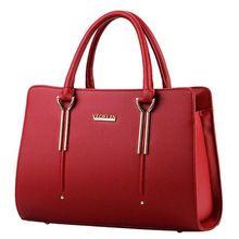 Famous 2016 Women Shoulder Bags Excellent Women Leather Handbags Ladies Tote Bag Brand Designer Female Handbags Women Bag  Price: US $40.90  Sale Price: US $23.72  #dressional