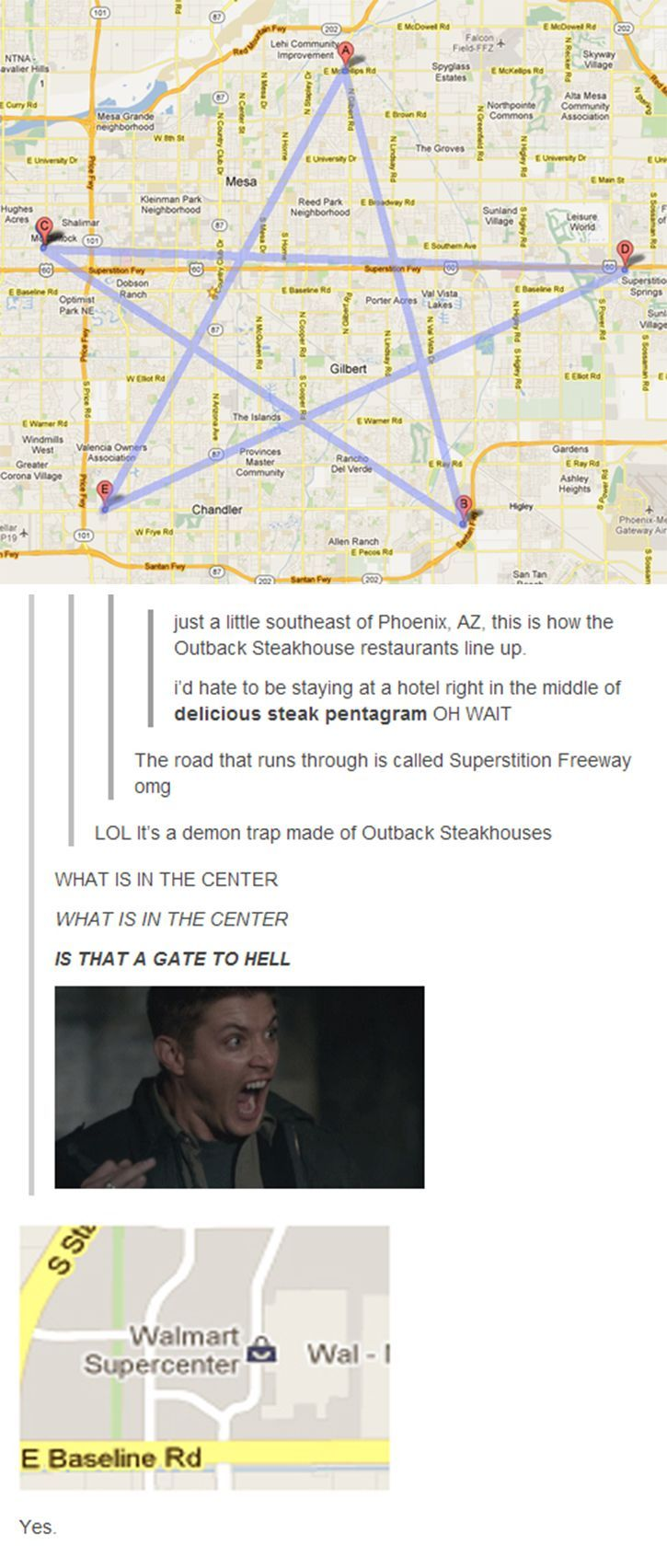 I miss supernatural...its a gate to hell!