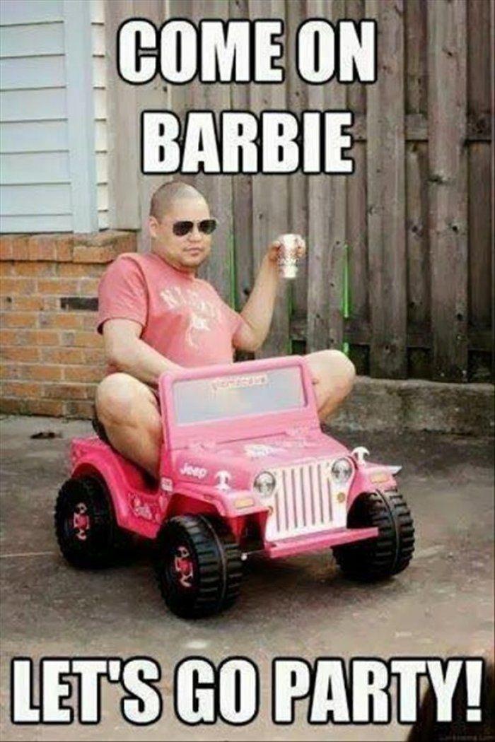 Come on barbie lets go party meme - http://www.jokideo.com/