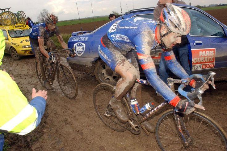 Boonen & Hincapie, Paris-Roubaix 2002