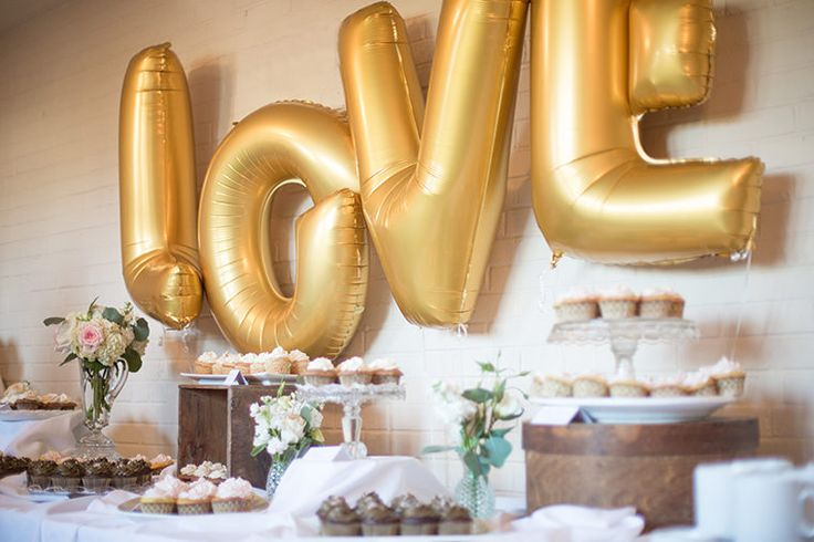 Wedding Reception | Balloon Letters | LOVE Letters | Balloons | Party Balloons | Wedding Decorations | Reception Decorations