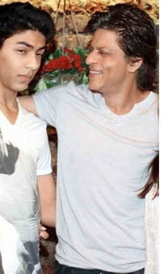 with Aryan - old pic