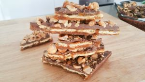 CHOCOLATE TOFFEE NUT CRACKER - For want of another Name - Steve's Kitchen