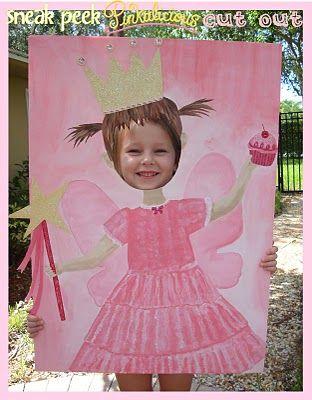 Painel de princesa