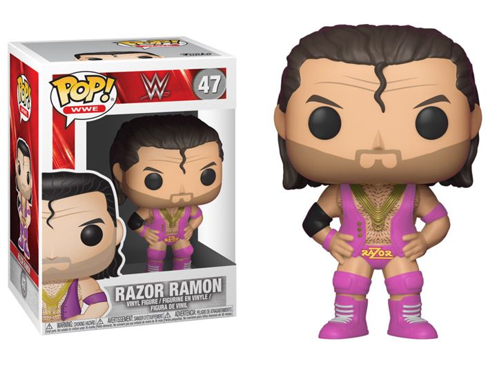#transformer Pop! WWE: Razor Ramon