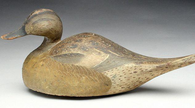 'Humpback' Pintail Drake Takes A Record $201,250 - http://www.antiquesandthearts.com/humpback-pintail-drake-takes-a-record-201250/