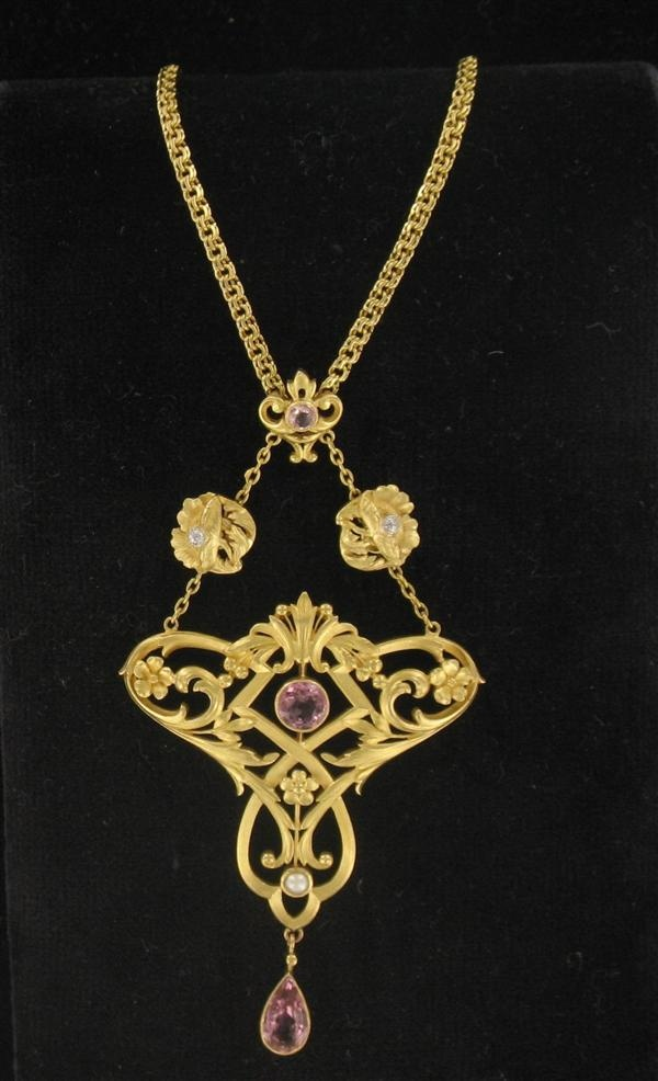 Favori 814 best Art nouveau jewelry. images on Pinterest | Vintage  AJ45