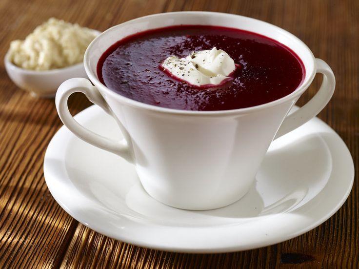 Przepis na Zupa krem z buraków