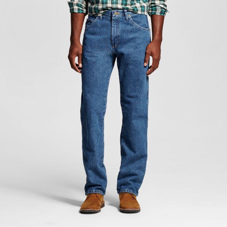 Wrangler Big & Tall Men's 5-Star Regular Fit Jeans Stonewash 42X36