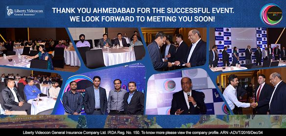 Thank you for visiting us at #Convergence2017 - Ahmedabad. It was our pleasure to interact and exchange innovative ideas with you! #LibertyVideocon