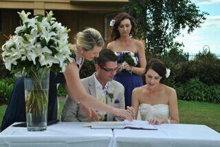Teneriffe wedding