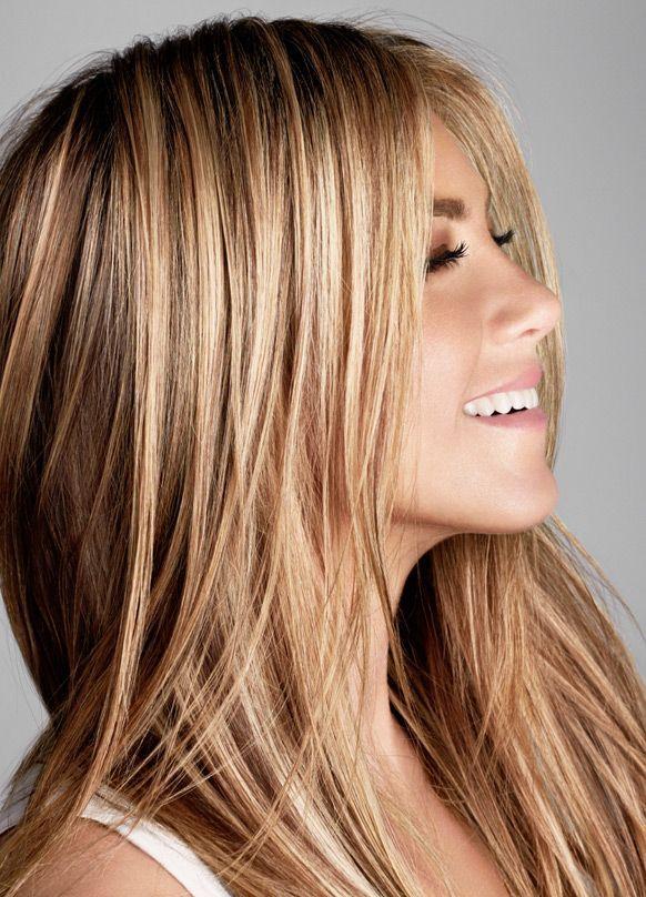 Best 25 Jennifer Aniston Hair Color Ideas On Pinterest