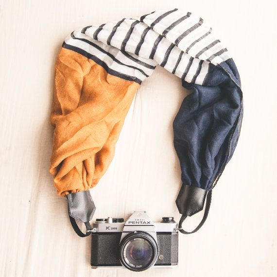 Etsy Roundup Camera Accessories - Vintage Camera Strap