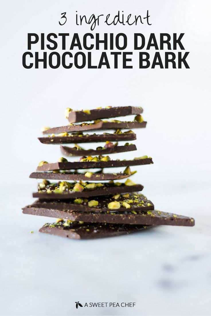 Pistachio Dark Chocolate Bark | Save your $$$ on those high end dark ...