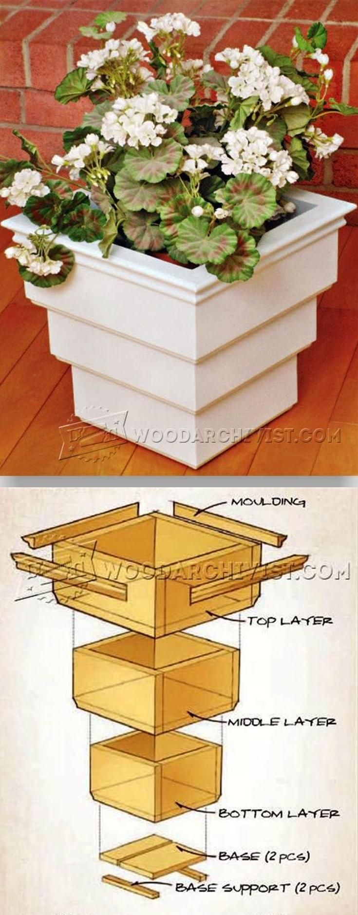 Gallery Of Patio Planter Box Plans