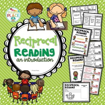 Reciprocal Reading - An Introduction. This pack is a must for introducing Reciprocal Reading. There are tasks to help consolidate each role and a recording booklet for the sharing of information. The booklet keeps all the information on the shared text together. This pack will help in the analyzing of a text before you introduce Literature Circles.