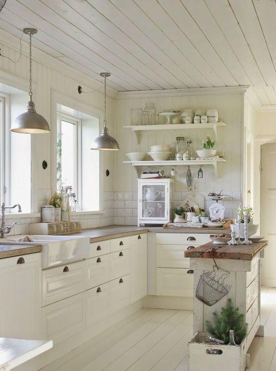 Beyaz Mutfak Dolaplari Room Mutfak Fikirleri Guzel
