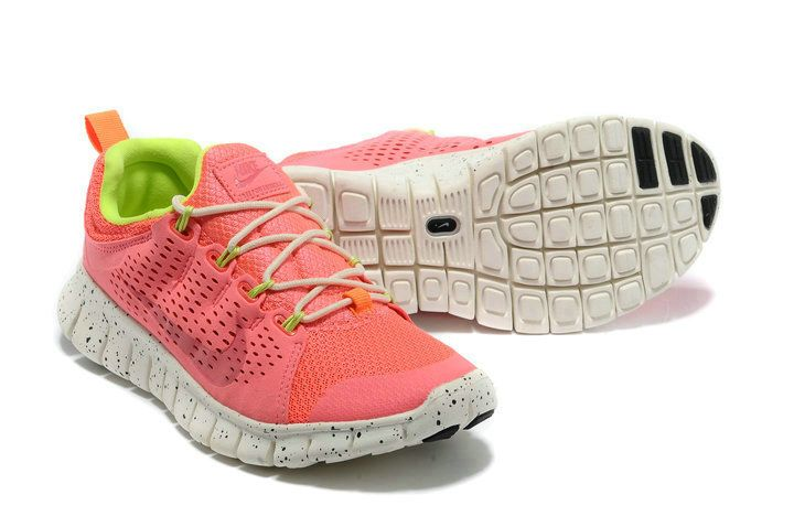 Mens Nike Free Powerlines II Hot Punch Volt 555306 111