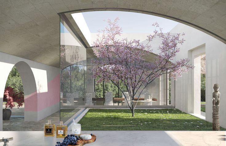 Stefano Ghiretti Architetto · bespoke Finca style VILLA in Ibiza