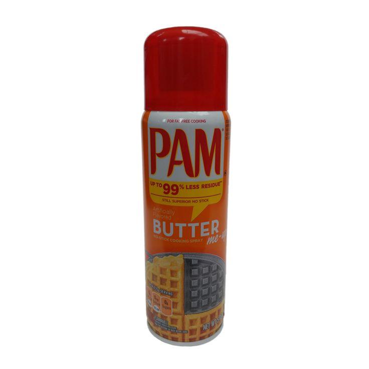 PAM - BUTTER me-up No-Stick Cooking Spray neu im Sortiment