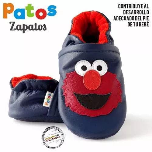 Zapatos Para Bebe Empezando A Caminar - Elmo