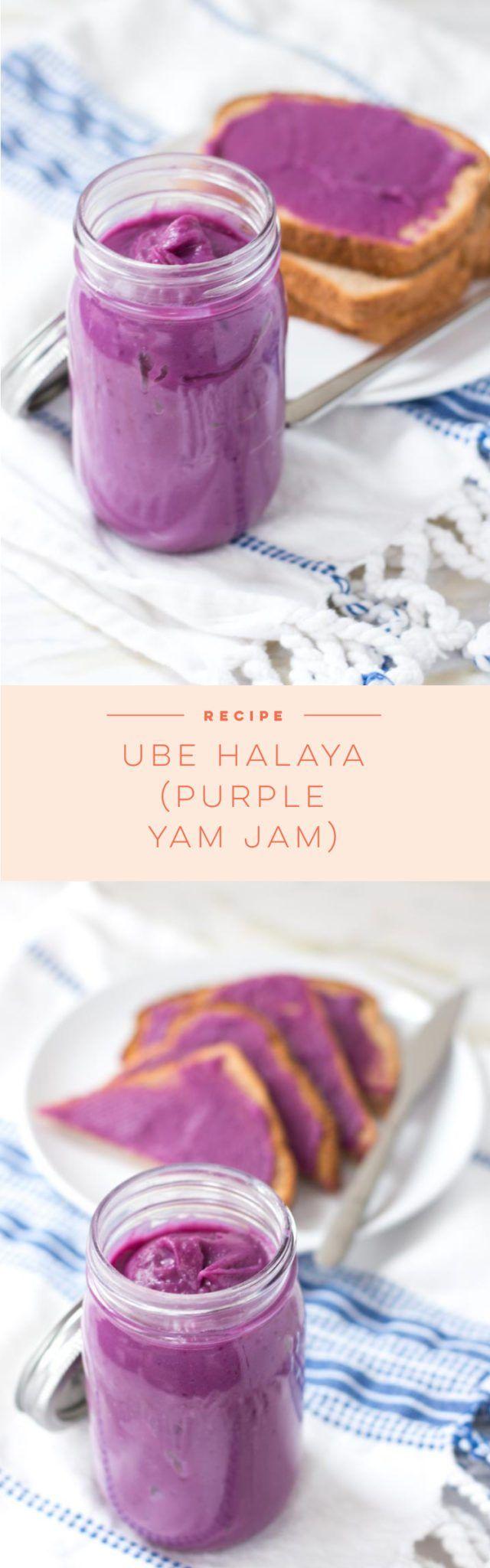 Easy recipe to make Ube Halaya or purple yam spread.