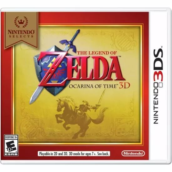 GCU Members: Nintendo Selects: The Legend of Zelda: Ocarina of Time 3D or Luigi's Mansion: Dark Moon (3DS) $11.9... #LavaHot http://www.lavahotdeals.com/us/cheap/gcu-members-nintendo-selects-legend-zelda-ocarina-time/213768?utm_source=pinterest&utm_medium=rss&utm_campaign=at_lavahotdealsus