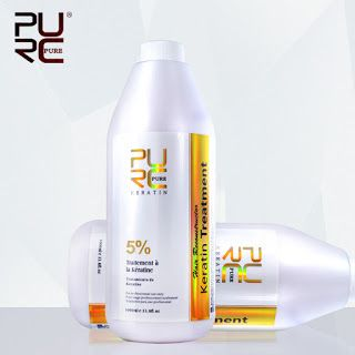 Brazilian keratin hair treatment formalin 5% 1000ml Hot sale hair straightener for hair mask and hair care free shipping (911503857)  SEE MORE  #SuperDeals