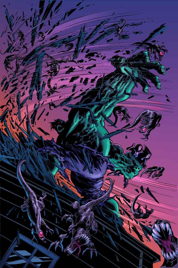 Hulk by Mike Deodato Jr.