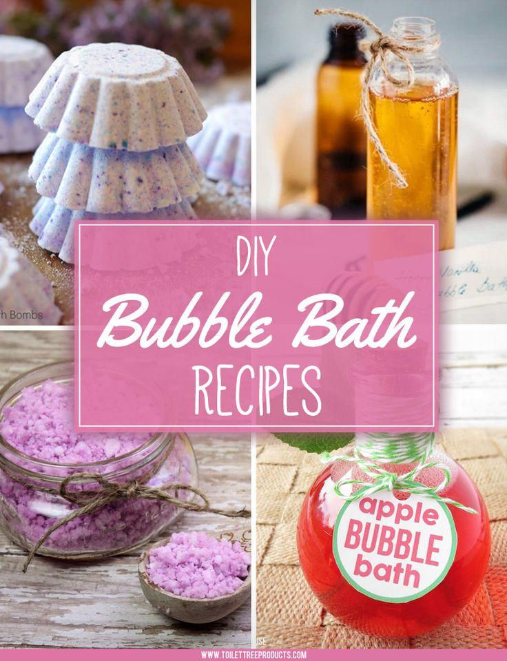 DIY Bubble Bath Recipes