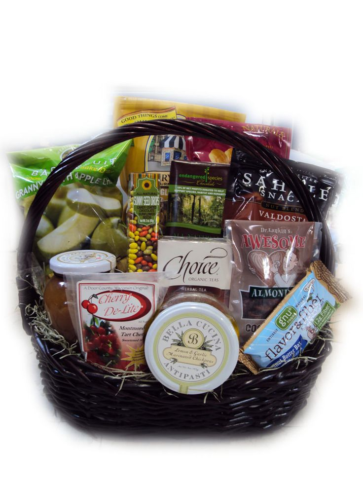 Gifts for patients with heart surgery--Low-Sodium Heart Health Gift Basket